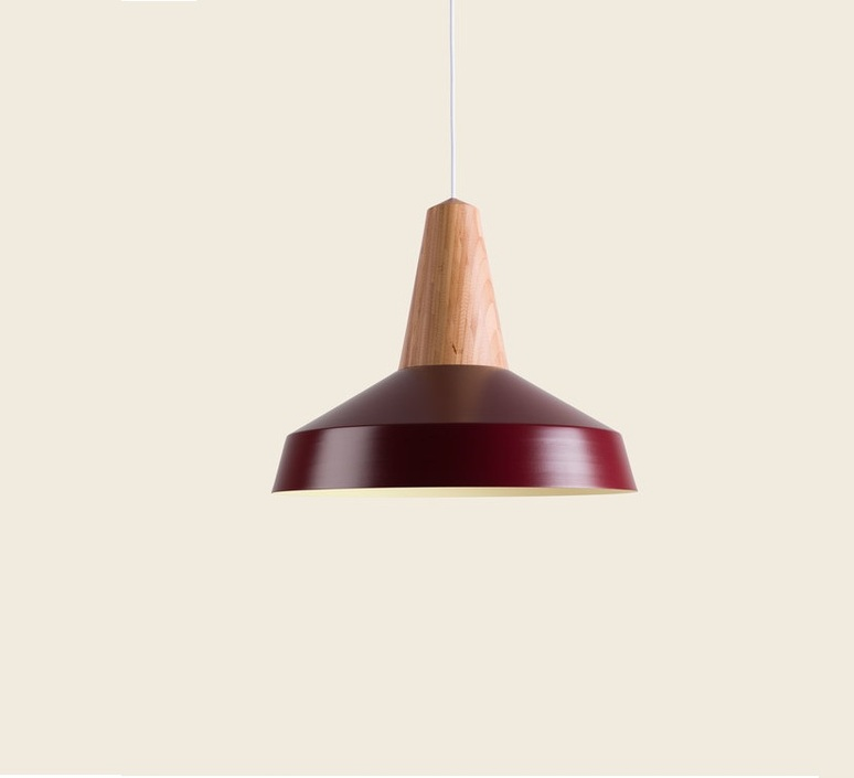 Circus  julia mulling et niklas jessen suspension pendant light  schneid eikon circus black oak burgundy  design signed nedgis 88942 product