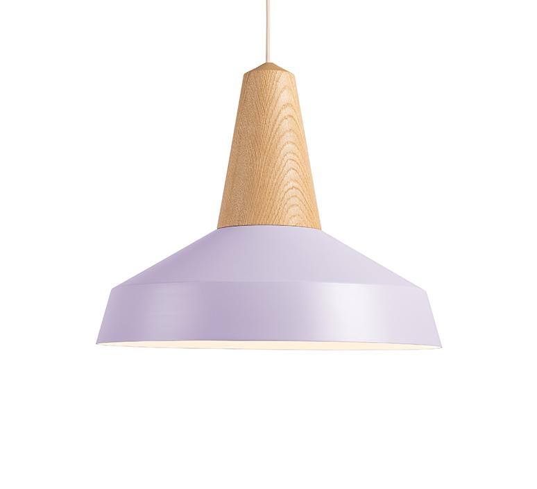 Eikon circus julia mulling et niklas jessen suspension pendant light  schneid eikon circus oak lavender white canopy  design signed nedgis 106525 product