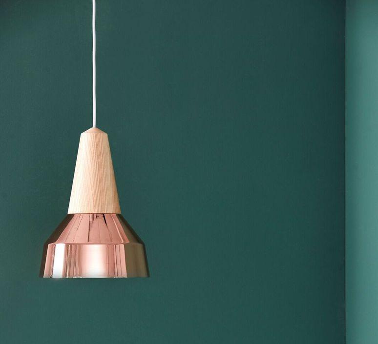Eikon ray julia mulling et niklas jessen suspension pendant light  schneid ray copper frene  design signed 46847 product