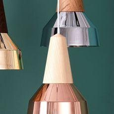 Eikon ray julia mulling et niklas jessen suspension pendant light  schneid ray copper frene  design signed 46848 thumb