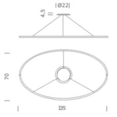 Ellisse downlight  federico palazzari suspension pendant light  nemo lighting elp lo2 54  design signed nedgis 112843 thumb