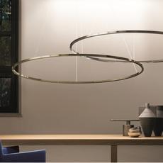 Ellisse double mega federico palazzari suspension pendant light  nemo lighting elp ln2 5a  design signed nedgis 79520 thumb