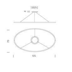 Ellisse double mega federico palazzari suspension pendant light  nemo lighting elp ln2 5a  design signed nedgis 79521 thumb