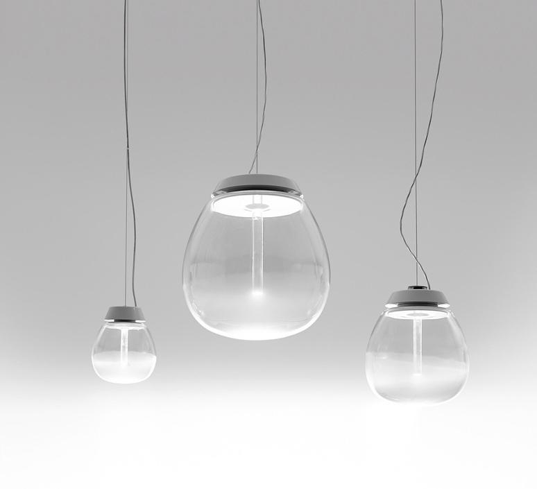 Lesbo quaglio simonelli suspension pendant light  artemide 0054010a  design signed nedgis 75729 product