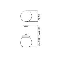 Lesbo quaglio simonelli suspension pendant light  artemide 0054010a  design signed nedgis 75731 thumb