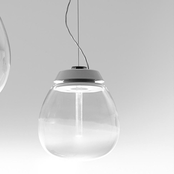 Suspension empatia m blanc o26cm h50cm artemide normal
