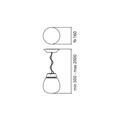 Alfa sergio mazza suspension pendant light  artemide 0026010a  design signed nedgis 75727 thumb