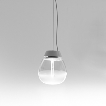 Suspension empatia s blanc o16cm h50cm artemide normal