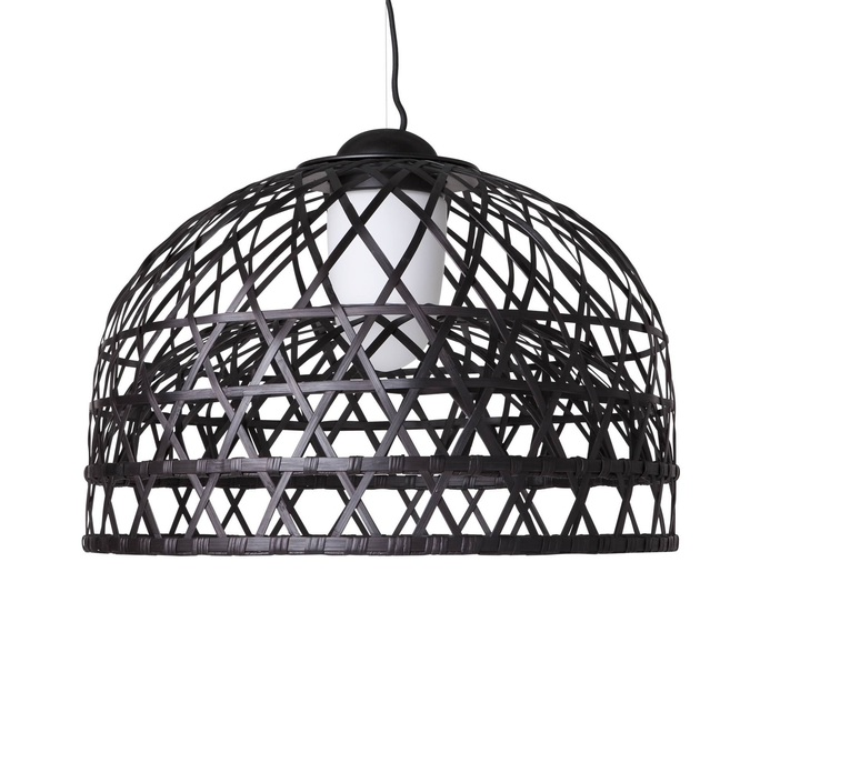 Emperor l neri   hu suspension pendant light  moooi molems l b  design signed nedgis 69785 product