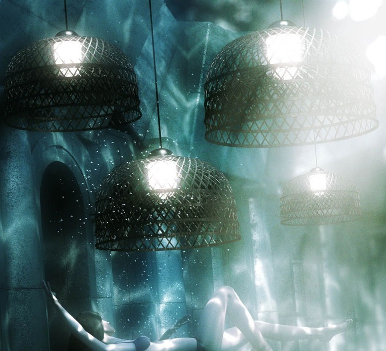 Emperor m neri   hu suspension pendant light  moooi molems m ba  design signed nedgis 69780 product