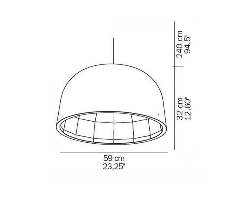 Empty jorg boner oluce 439 l blanc luminaire lighting design signed 22613 product