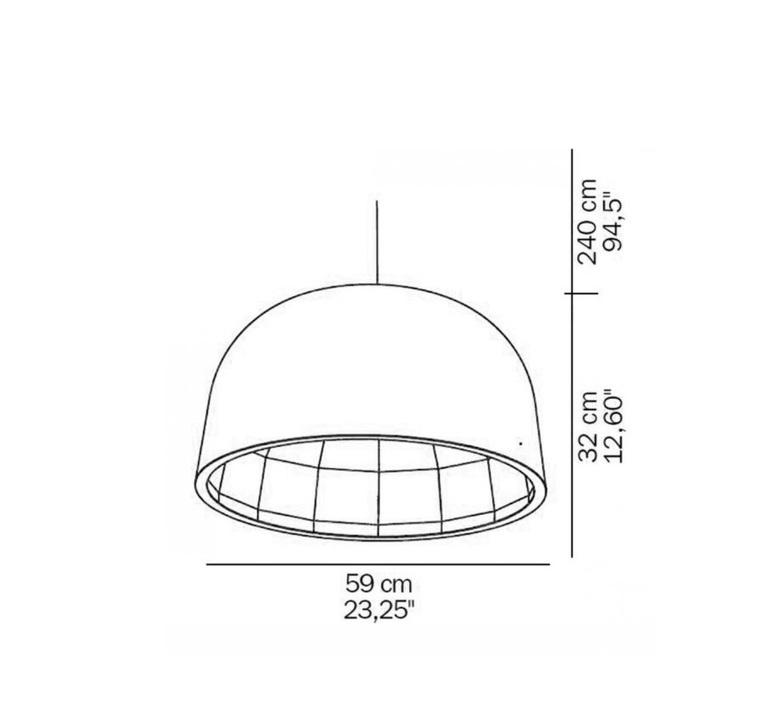 Empty jorg boner oluce 439 l bronze luminaire lighting design signed 22617 product