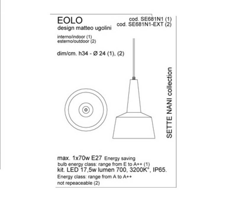 Eolo matteo ugolini karman se681n1 ext luminaire lighting design signed 19655 product