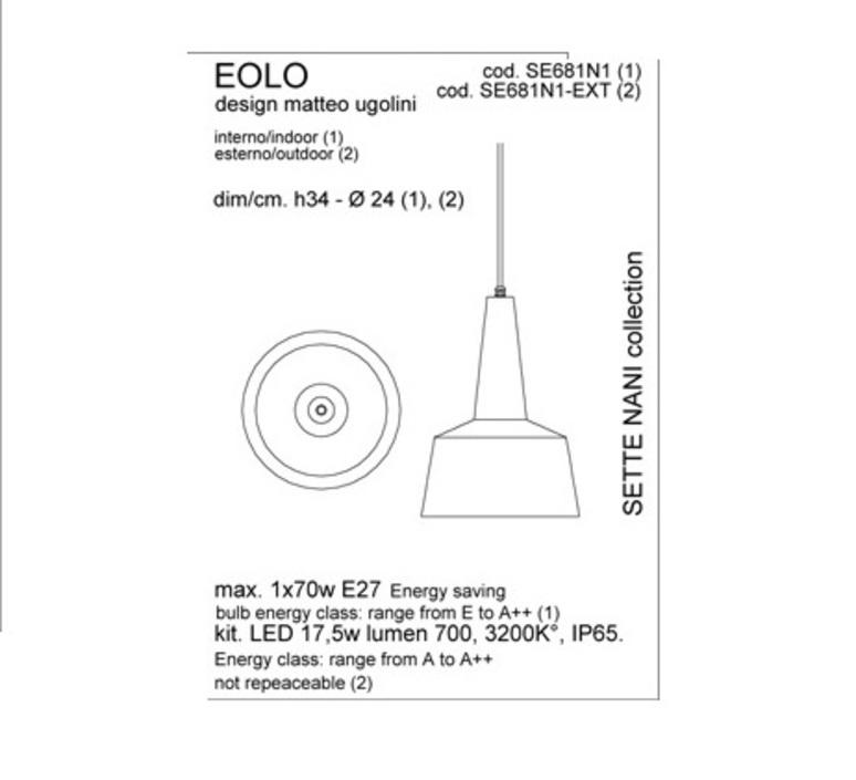 Eolo matteo ugolini karman se681n1 luminaire lighting design signed 19652 product