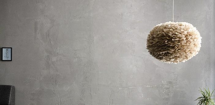 Suspension eos brown l plumes d oie marron o65cm h40cm vita copenhagen normal