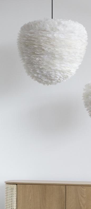 Suspension eos evia large blanc o55cm h54cm umage normal