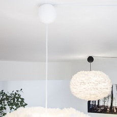 Eos mini blanc avec cable cannonballl blanc soren ravn christensen suspension pendant light  umage vita copenhagen 2011 4031  design signed nedgis 93624 thumb