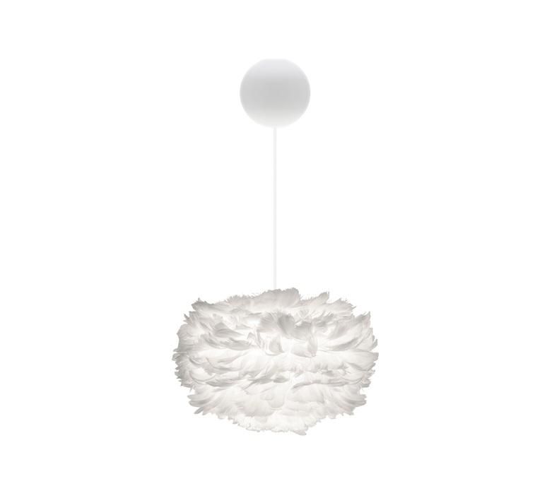 Eos mini blanc avec cable cannonballl blanc soren ravn christensen suspension pendant light  umage vita copenhagen 2011 4031  design signed nedgis 93625 product