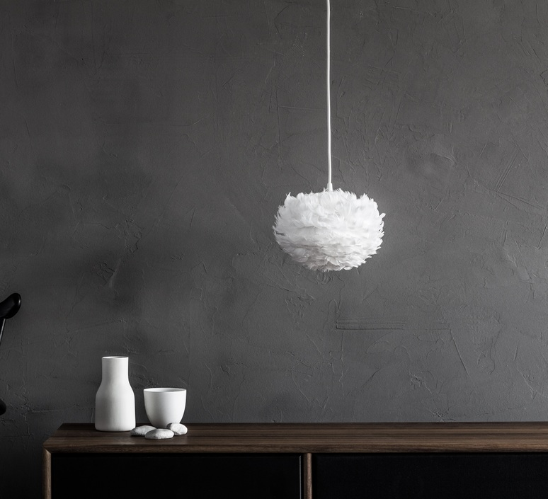 Eos mini blanc avec cable rosette blanc soren ravn christensen suspension pendant light  umage vita copenhagen 2011 4144  design signed nedgis 93575 product