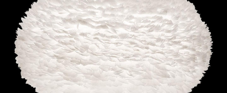 Suspension eos xl plumes blanc h70cm o110cm vita copenhagen normal