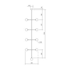 Epic 2 gwendolyn et guillane kerschbaumer suspension pendant light  areti epic 2 brass  design signed nedgis 64600 thumb