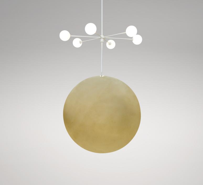 Epic 3 gwendolyn et guillane kerschbaumer suspension pendant light  areti epic 3 rows 1 blanc  design signed nedgis 64267 product