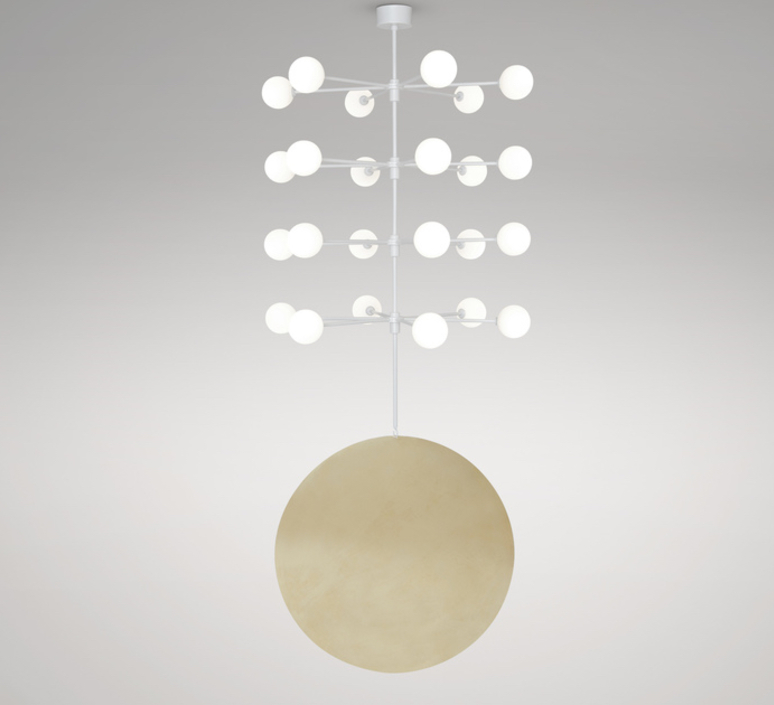Epic 3 gwendolyn et guillane kerschbaumer suspension pendant light  areti epic 3 rows 4  design signed nedgis 64264 product