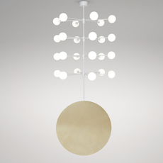 Epic 3 gwendolyn et guillane kerschbaumer suspension pendant light  areti epic 3 rows 4  design signed nedgis 64264 thumb