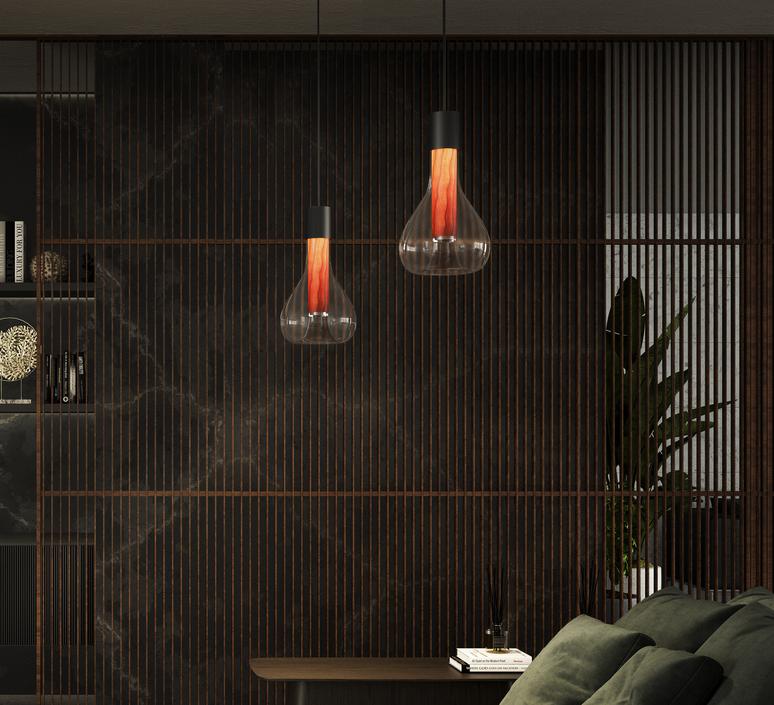 Eris s studio mayice suspension pendant light  lzf eris s bk 21  design signed nedgis 98013 product