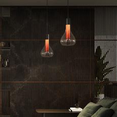 Eris s studio mayice suspension pendant light  lzf eris s bk 21  design signed nedgis 98013 thumb