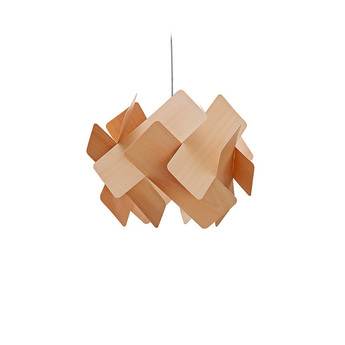 Suspension escape bois naturel d hetre o40cm lzf normal