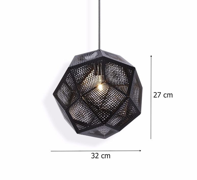 Etch 32 tom dixon suspension pendant light  tom dixon ets03blkeu  design signed 33560 product