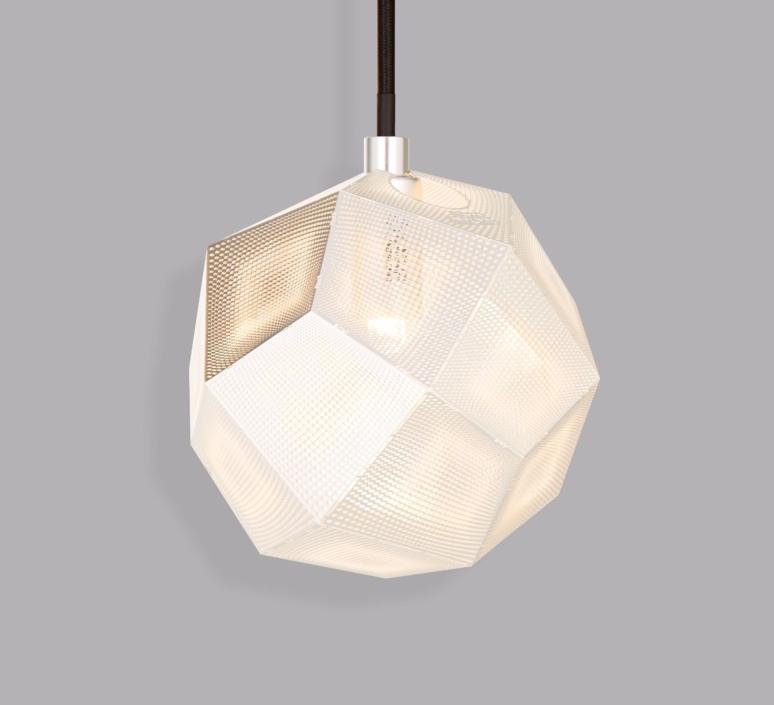 Etch mini tom dixon suspension pendant light  tom dixon etsm01sileu   design signed 34231 product