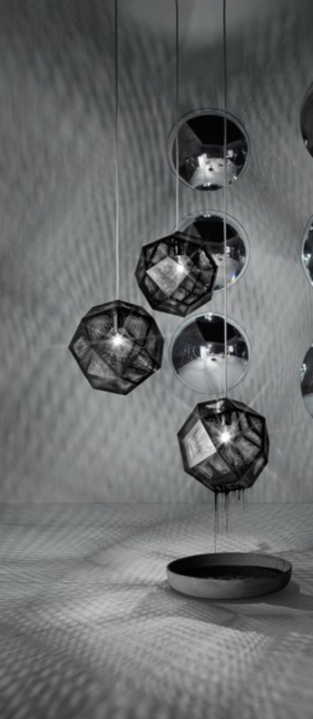 Suspension etch mini noir o15cm tom dixon normal
