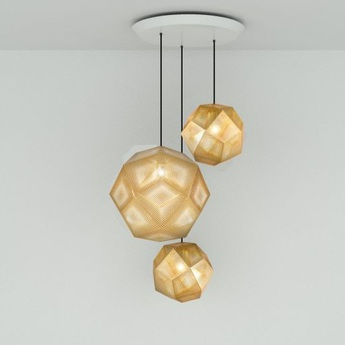 Suspension etch trio laiton h132cm l83cm tom dixon normal