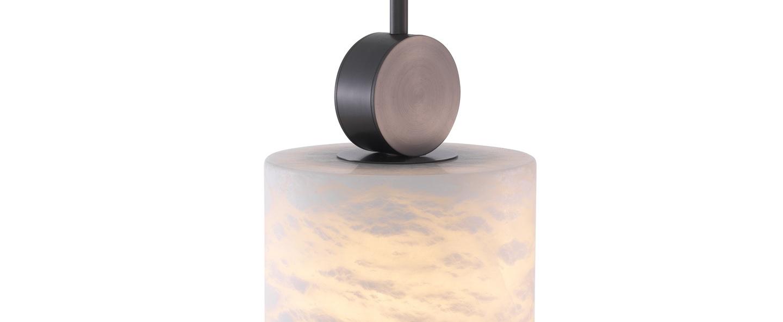 Suspension etruscan round noir o20cm h24cm eichholtz normal