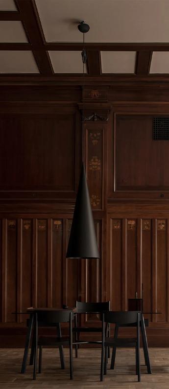 Suspension extra large pendant s1 noir fonce led 2700k 5855lm o45cm h127cm wastberg normal