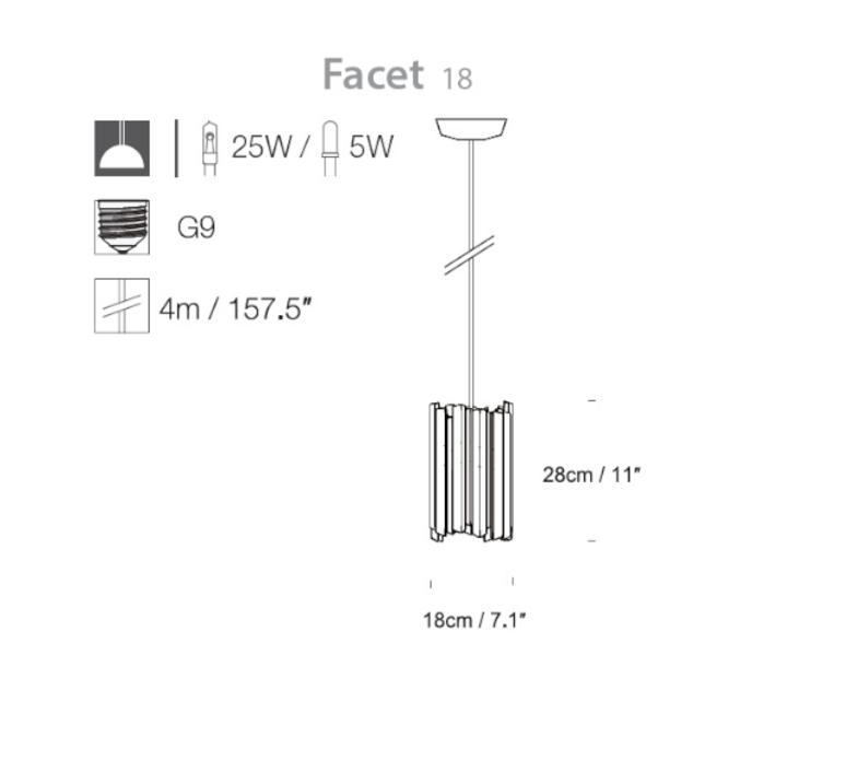 Facet tom kirk innermost pf039110 30 luminaire lighting design signed 12892 product