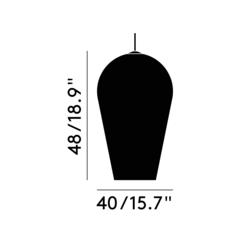 Fade tom dixon suspension pendant light  tom dixon fap01goeu  design signed 36889 thumb