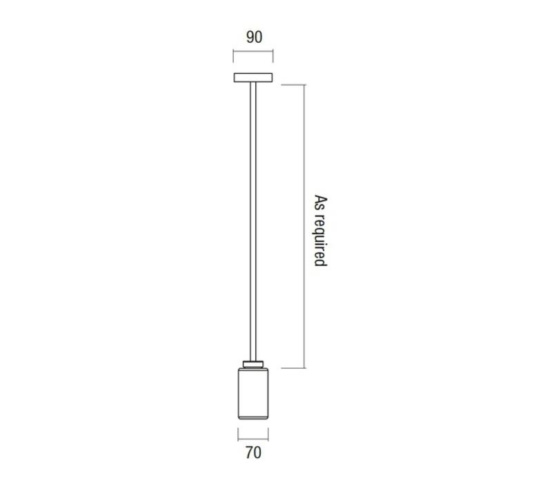 Farol robbie llewellyn adam yeats suspension pendant light  bert frank farol pendant light smoked glass  design signed 35952 product