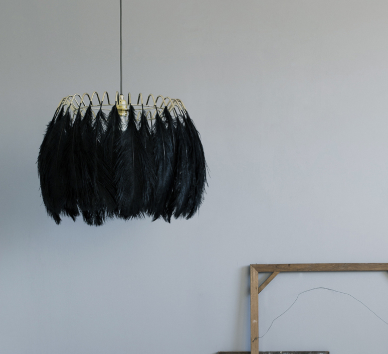 Feather brendan young vanessa battaglia suspension pendant light  mineheart lig053 b  design signed 46446 product