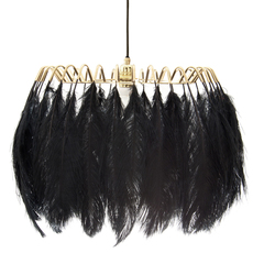 Feather brendan young vanessa battaglia suspension pendant light  mineheart lig053 b  design signed 46447 thumb