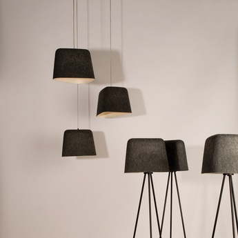 Suspension felt noir o40cm h26cm tom dixon normal
