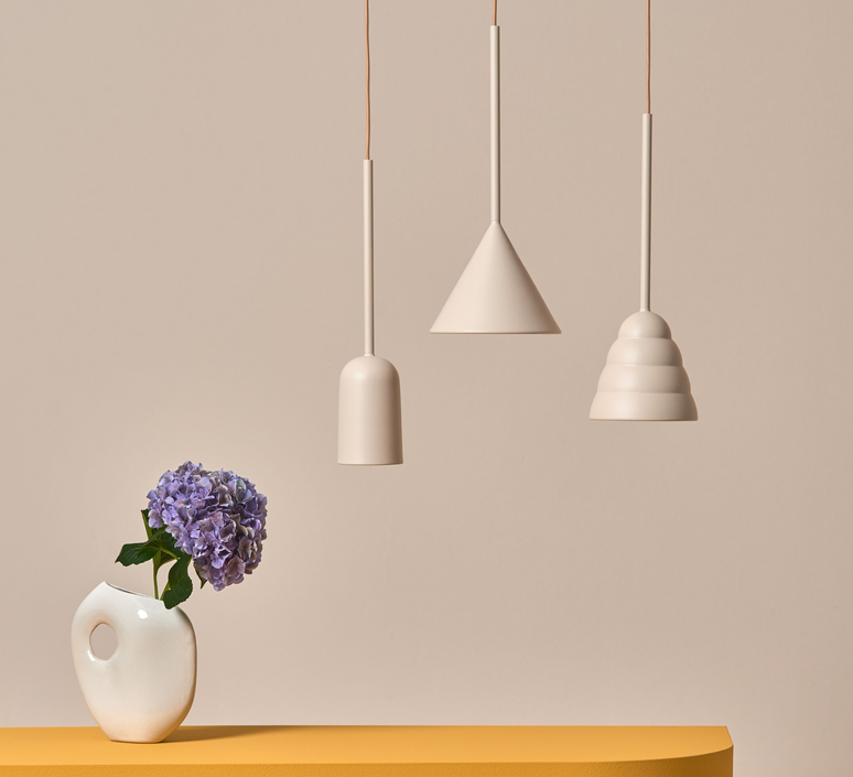 Figura arc julia mulling et niklas jessen suspension pendant light  schneid figura arc beige  design signed nedgis 66017 product