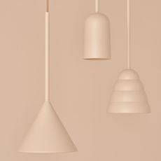 Figura arc julia mulling et niklas jessen suspension pendant light  schneid figura arc beige  design signed nedgis 66018 thumb