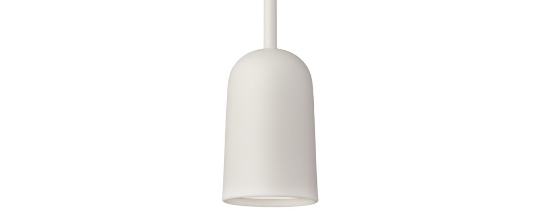 Suspension figura arc blanc o10cm h45cm schneid normal