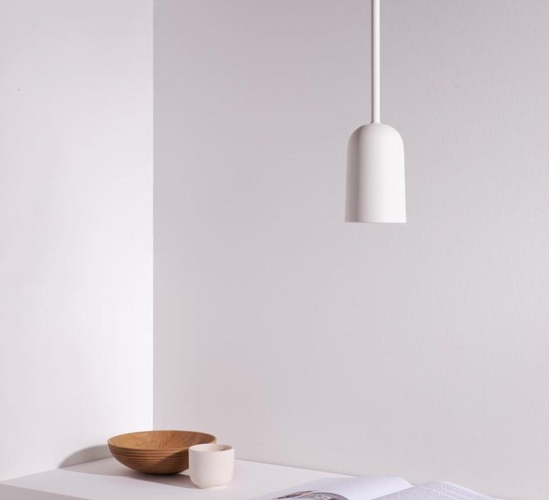 Figura arc julia mulling et niklas jessen suspension pendant light  schneid figura arc blanc  design signed nedgis 66375 product