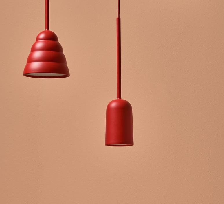 Figura arc julia mulling et niklas jessen suspension pendant light  schneid figura arc orange  design signed nedgis 66012 product