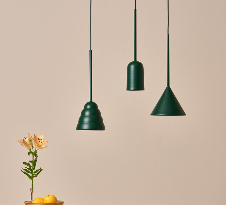 Figura arc julia mulling et niklas jessen suspension pendant light  schneid figura arc vert  design signed nedgis 66016 product