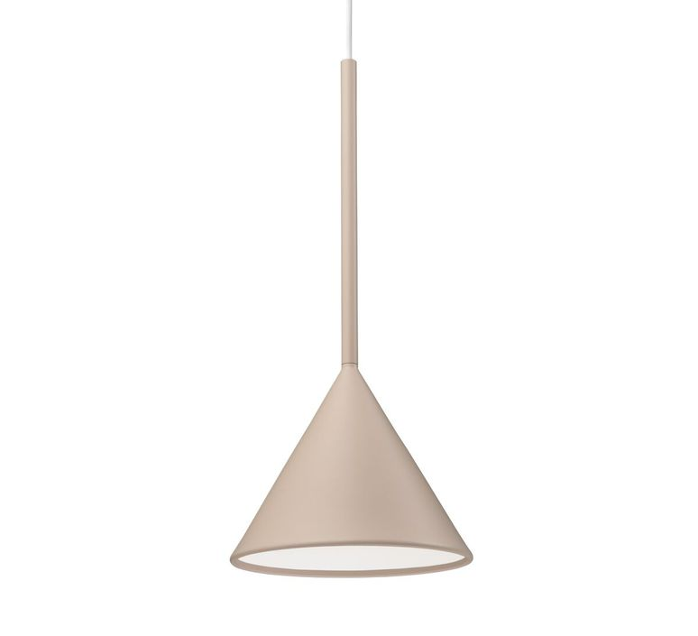 Figura cone julia mulling et niklas jessen suspension pendant light  schneid figura cone beige  design signed nedgis 66021 product